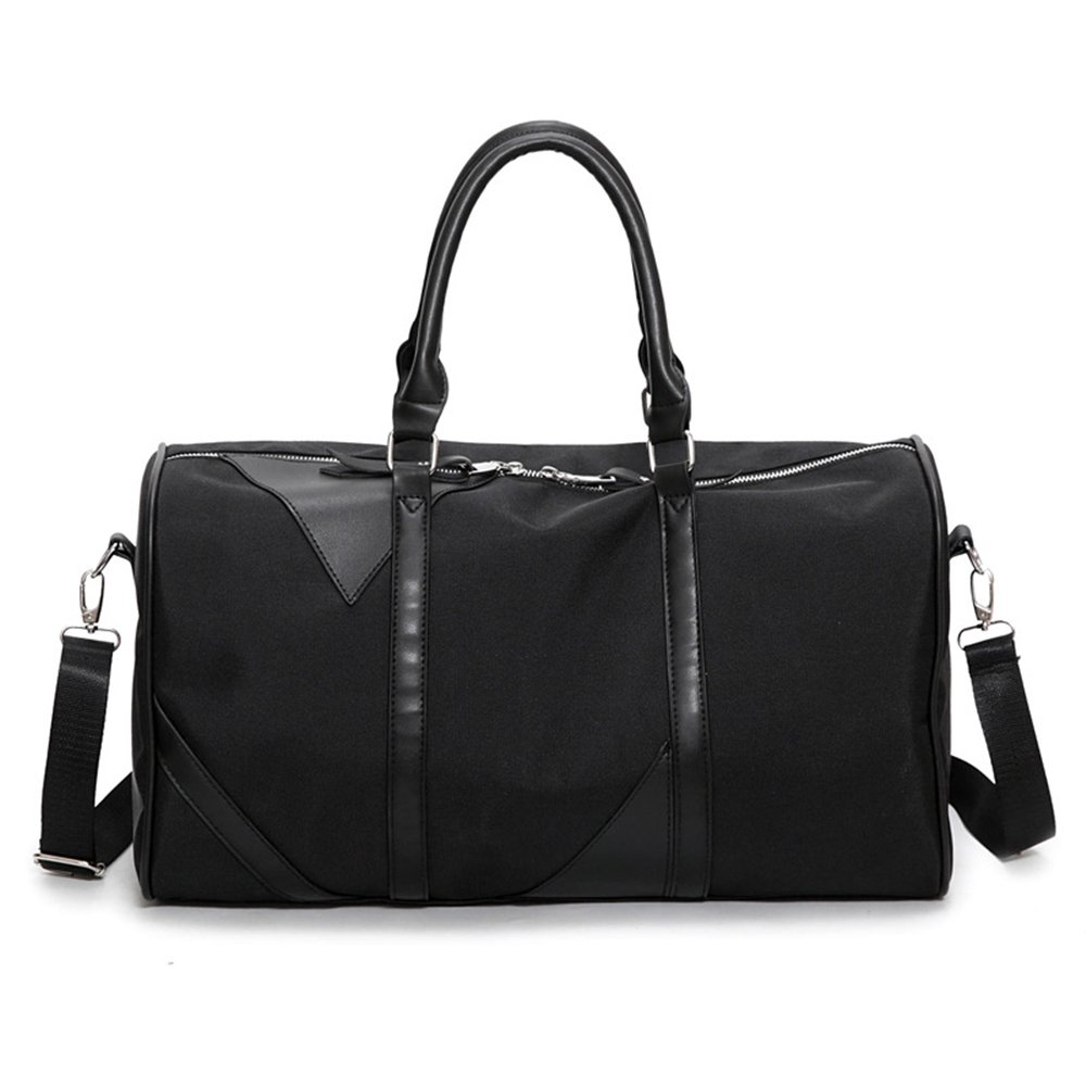 Ybriefbag Unisex Canvas Bag Female High-Capacity Portable Portable Body-Building Bag Male Canvas Bag Bag Bag Short Board Vacation