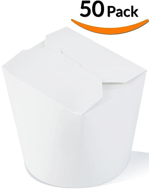Dobi chino Takeout cajas 32oz. (50 unidades) - contenedores de ...