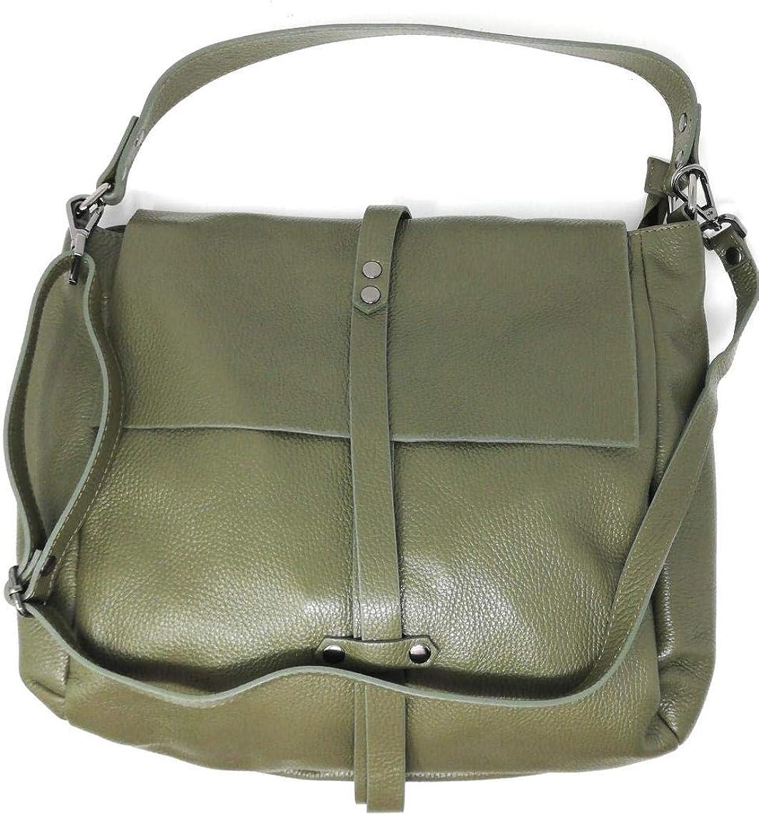 OH MY BAG SOLDES Sac port/é /épaule Cuir port/é /épaule femmes en v/éritable cuir fabriqu/é en Italie mod/èle IN SOLDES
