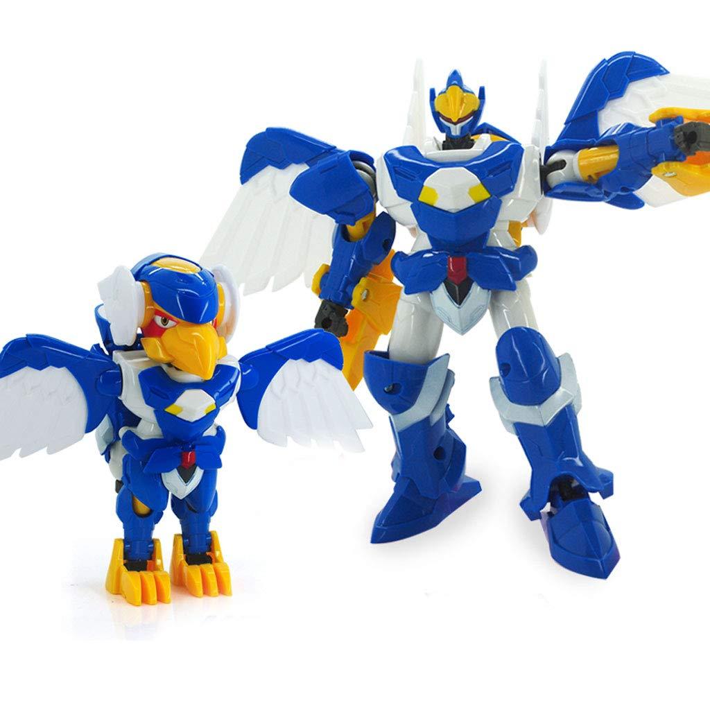 Siyushop Heroes Rescue Bots, Robot de deformación para niños, Set de Robot de deformación, niños de 2-8 años (Color : 2)