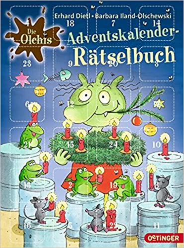 Kinder Weihnachtskalender.Die Olchis Kinder Weihnachtskalender Cd Das Adventskalender Hörbuch 2 Cd