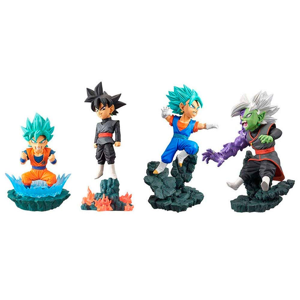 Banpresto – Dragonball Super World Collectable diorama Vol. 1 (Bandai 81325), Modèle Assorti