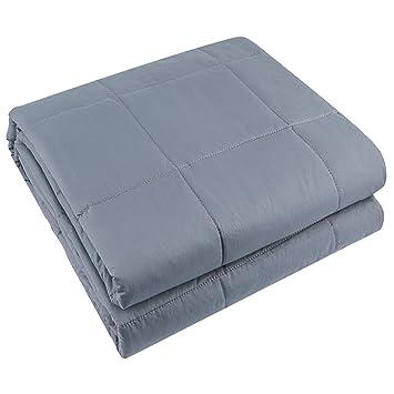 Manta JIN DI LONG JJ: manta con peso, manta de gravedad para hombres y mujeres adultos, ...