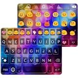 Multi Color Love Emoji Keyboard