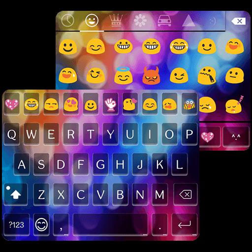 Multi Color Love Emoji Keyboard product image