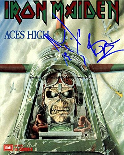 iron maiden aces high poster - 1