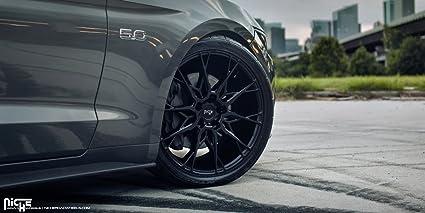 Amazon Com 19 Inch Niche Staccato Matte Black Wheels Rims Only