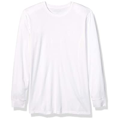Essentials Men's Lightweight Performance Long-Sleeve Base Layer Shirt: Clothing