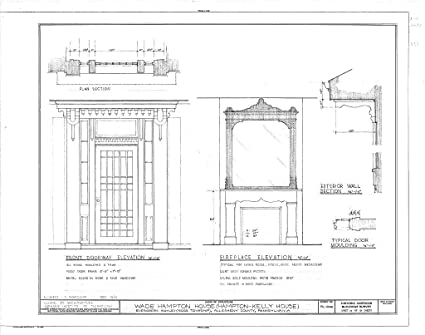 historic pictoric blueprint diagram habs pa,2-evghm,1- (sheet 10