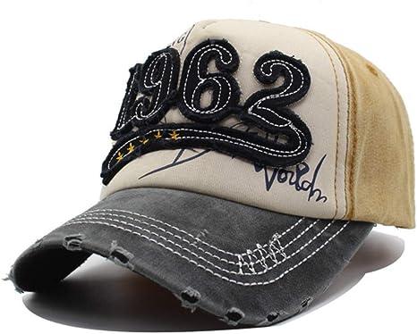 YUANBAOG Marca Mujeres Gorras de béisbol Hombres Sombreros para ...