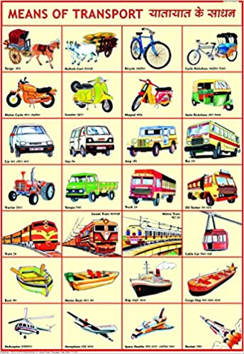 amazon in buy means of transport chart 50 x 70 cm book online at