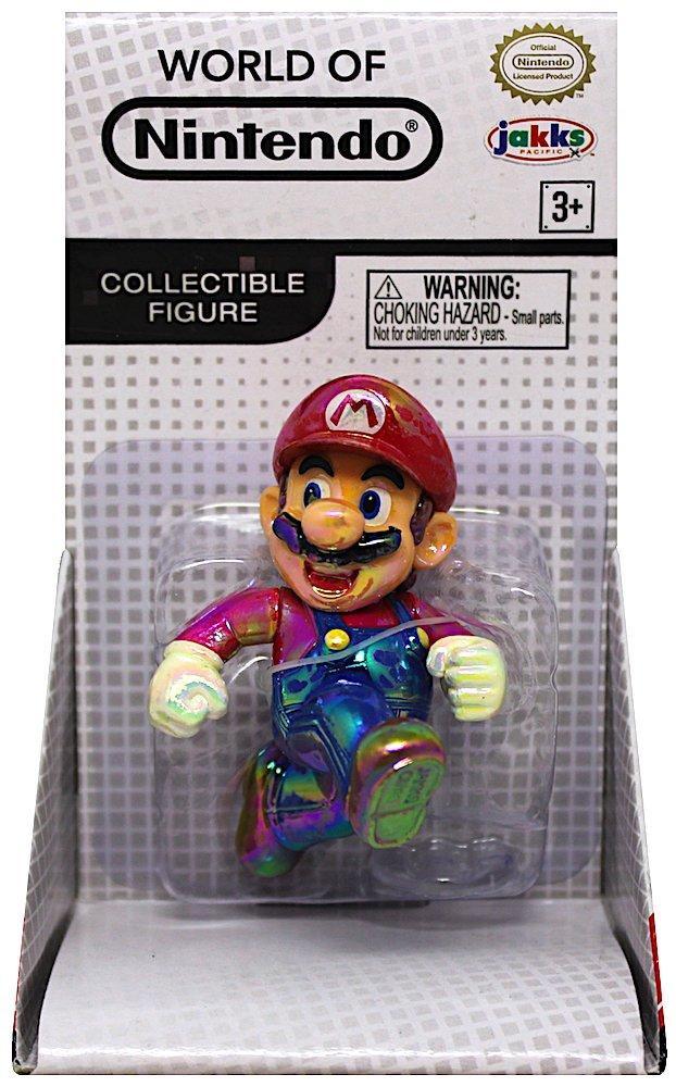 JWON Super Mario Star Power Mario 2.5 Inch Action Figure