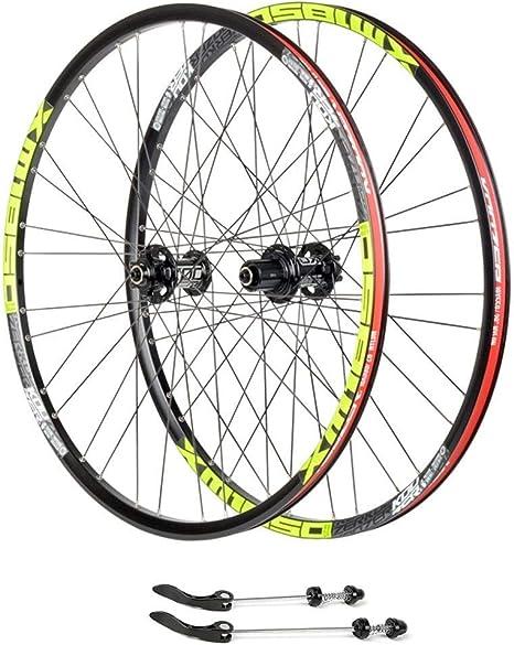 ZNND Montaña Ruedas De Bicicleta, 26 Pulgadas MTB Ciclismo Wheels ...