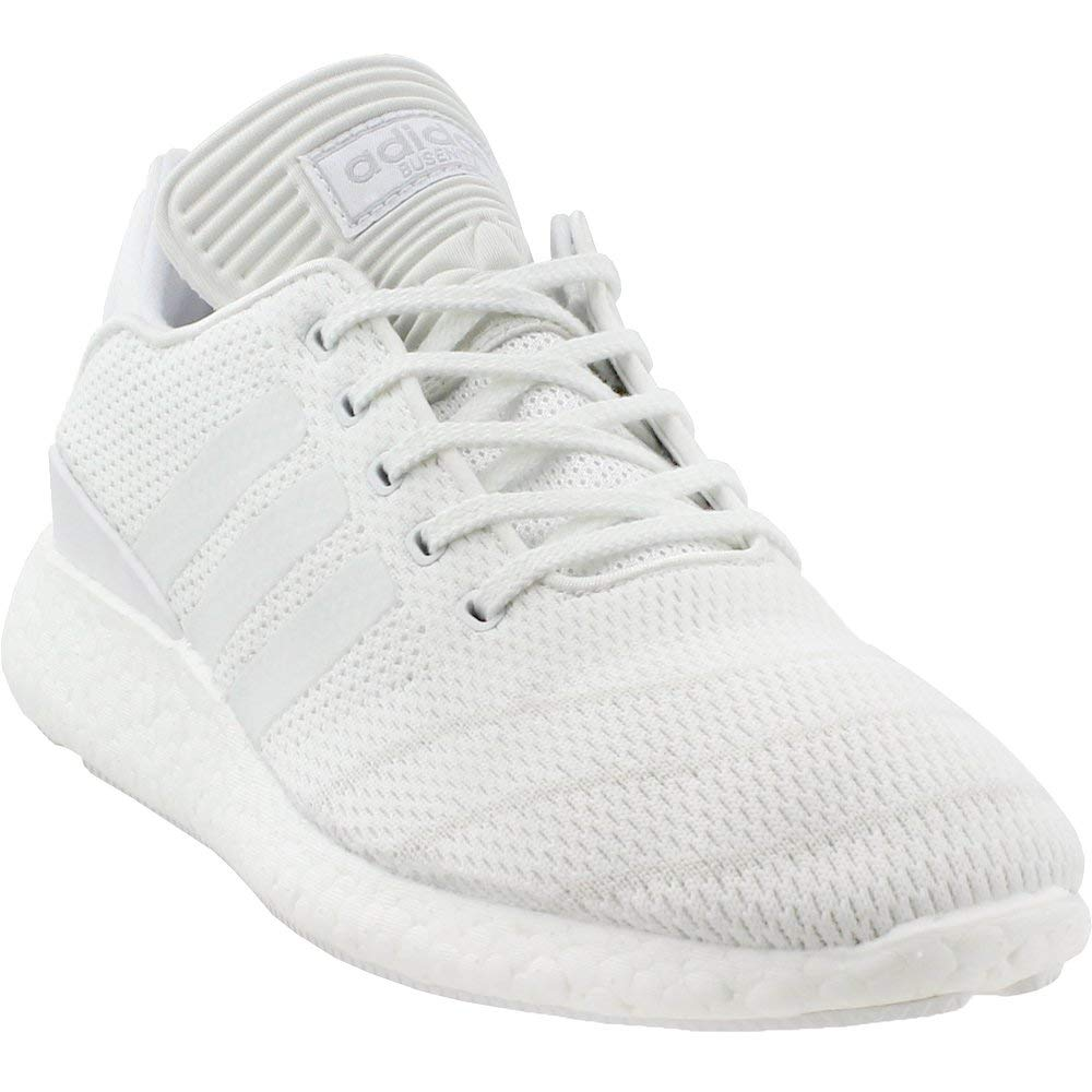 wholesale dealer 03ce0 0a6f8 Amazon.com  adidas Pure Boost PK (WhiteWhiteWhite) Mens Skate Shoes   Basketball