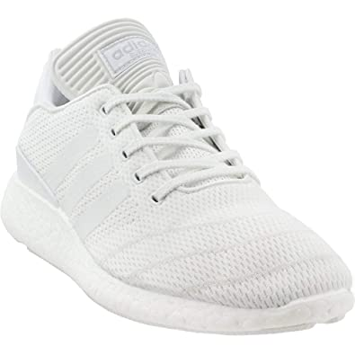 4d64b9b29dd8 adidas Busenitz Pure Boost Primeknit Mens in Footwear White White by