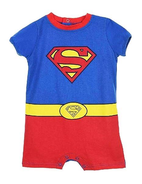 Superman - Mono - para bebé niño: Amazon.es: Ropa y accesorios