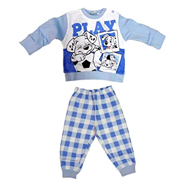 450efe442a pigiama neonato lungo in cotone jersey LA CARICA DEI 101 disney art.  WD101135: Amazon.it: Abbigliamento