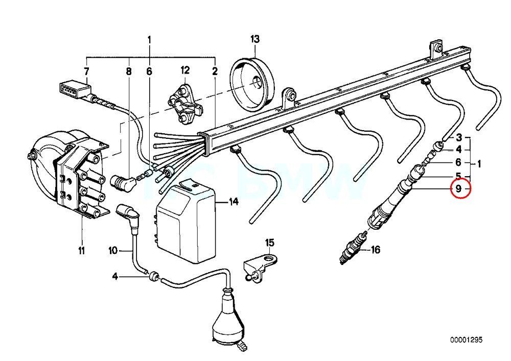 Amazon Com Genuine Bmw E30 E31 E32 E38 5000 Ohm Ignition Spark Plug