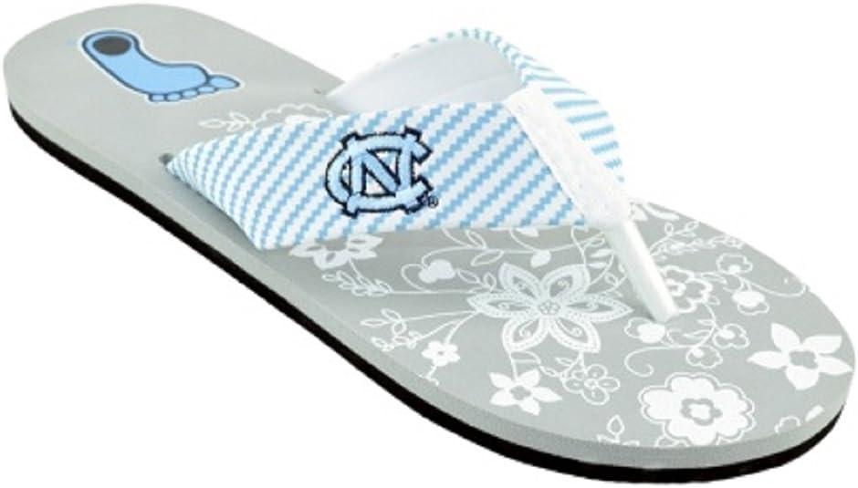 Campus Footnotes Womens Zig Zag Floral Flip Flops