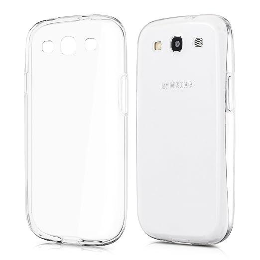 197 opinioni per kwmobile Cover per Samsung Galaxy S3 / S3 Neo- Custodia in silicone TPU- Back