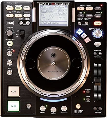 Turntable Media Player and Controller (Media Player Midi Control)