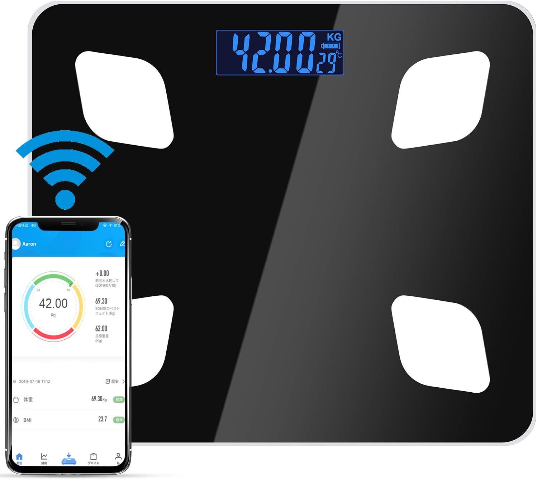 体重計 体組成計 ヘルスメーター Bluetooth