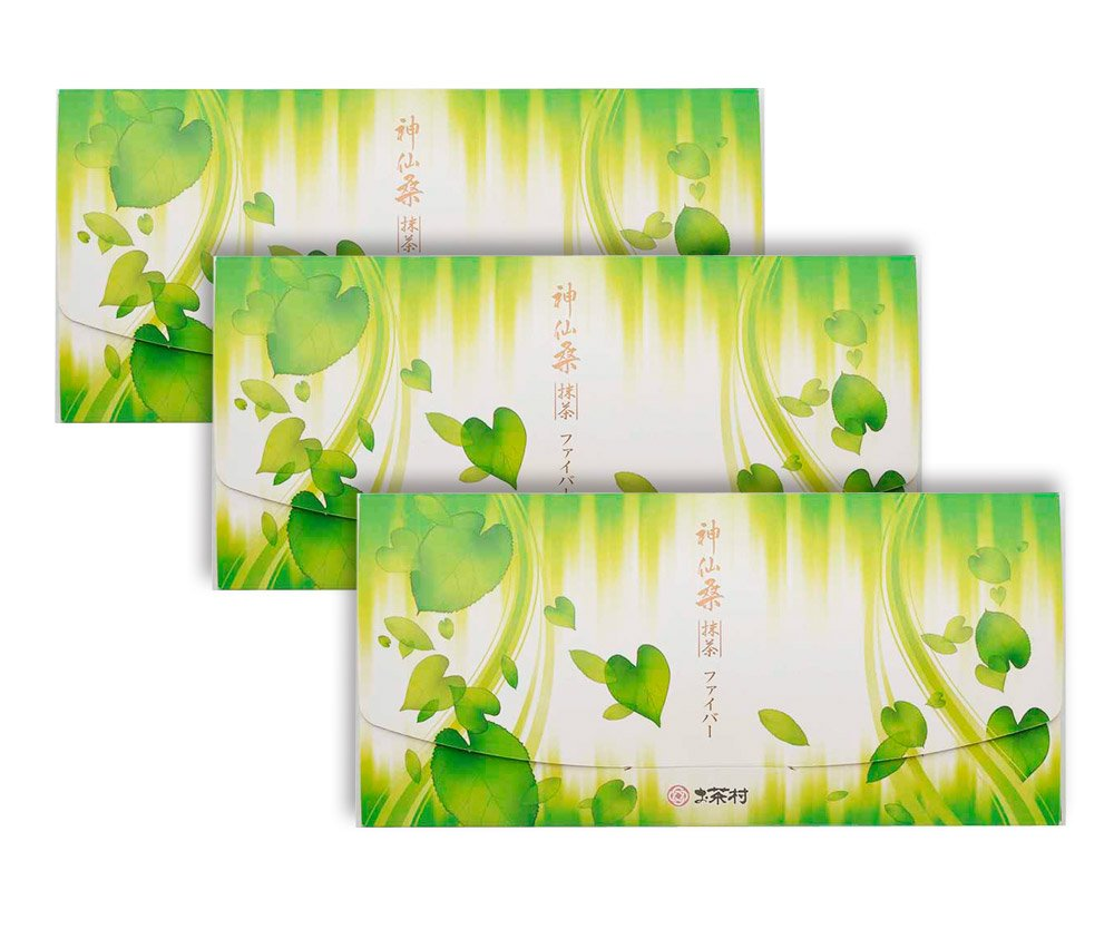お茶村 青汁 神仙 桑抹茶 ファイバー 30包 入り 3箱セット B071WTN6R6   3箱セット