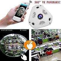 Giantree 360 Degree Panoramic Fisheye Wireless IP Camera Night Vision VR CCTV Home Security Surveillance Cameras System