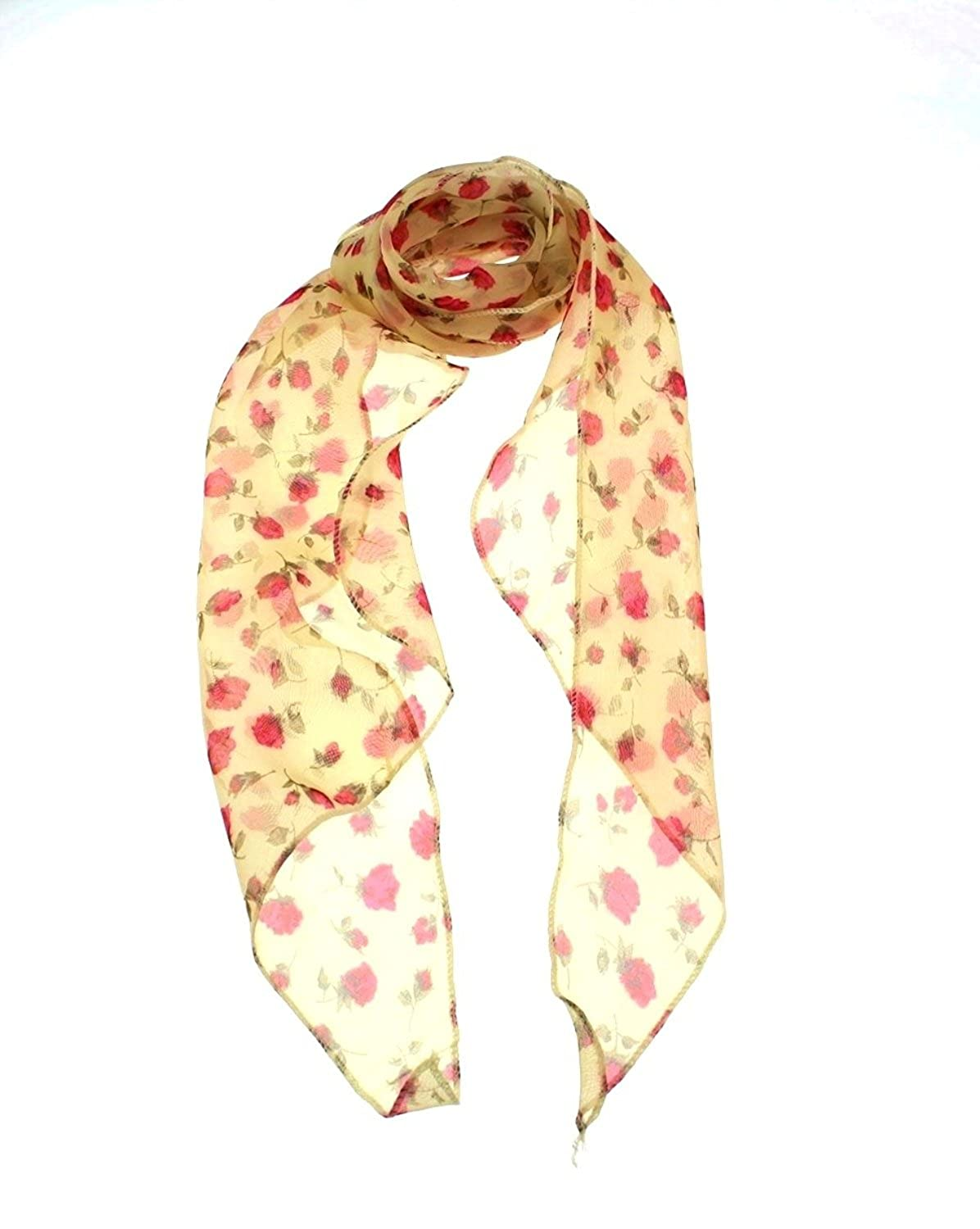 Zac's Alter Ego Women's 3 In 1 Patterned Sash Scarf/ Head Scarf/ Neck Scarf