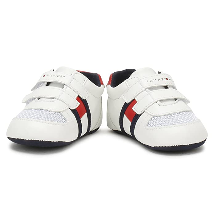 a286da025 Tommy Hilfiger Baby White Red V Trainers-Baby 2  Amazon.co.uk  Shoes   Bags