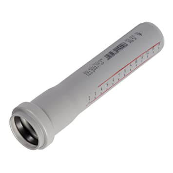 Ht Rohr Abwasserrohr Passlange Durchmesser Dn 50mm Lange 500mm