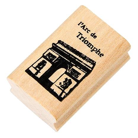 Amazon.com: outgeek madera sello de madera Stamper Creative ...