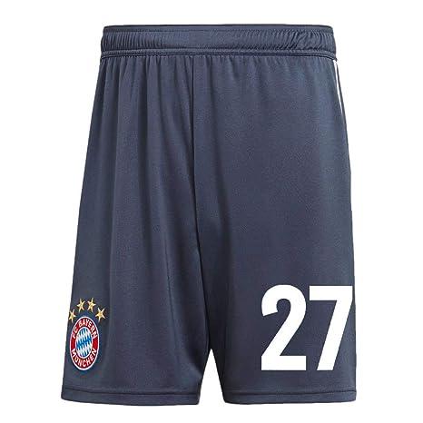 e2bf49cf85 adidas FCB FC Bayern München 3rd Hose 2018 2019 Ausweichshorts Kinder Alaba 27  Gr 152