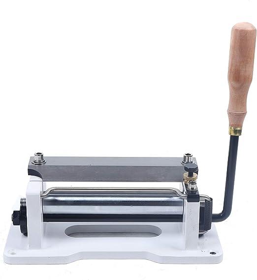 Jintaihua Paring Manuelles Leder Skiver Sch/äler Splitter Schaufel Haut Skiving Maschine