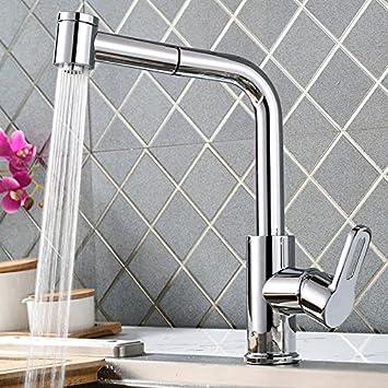 Homelody 360° drehbar Wasserhahn Küche Ausziehbar Küchenarmatur mit ...