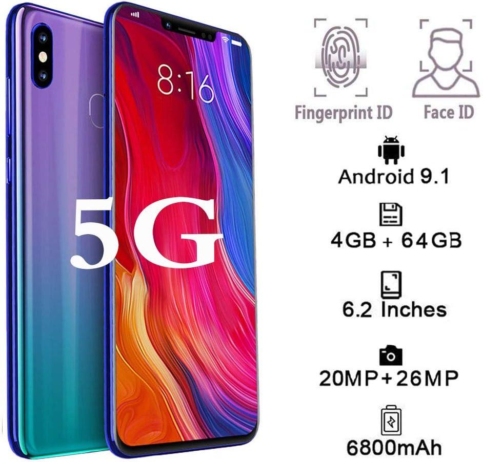 5G Smartphone, 10GB RAM 128GB ROM Dual SIM 6.4 Pantalla ...