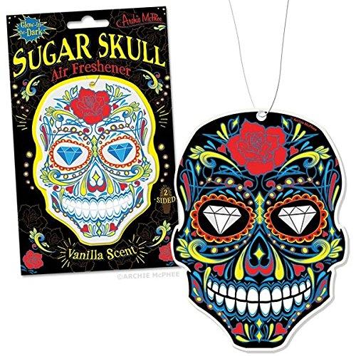 Archie McPhee Sugar Skull Air Freshener