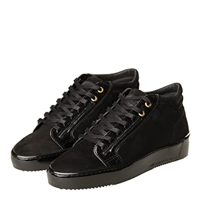 6e1b474d8d6 Android Homme Propulsion Mid Trainers - Black Suede  Amazon.co.uk  Shoes    Bags