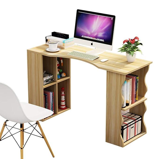 Mesas Para Ordenador Con Estantes De Almacenamiento,escritura ...