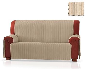 JM Textil Cubre sofá Rino Tamaño 3 plazas (150 Cm.), Color 01