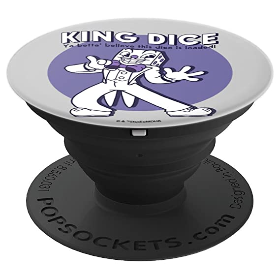 Amazon com: Cuphead King Dice This Dice Is Loaded
