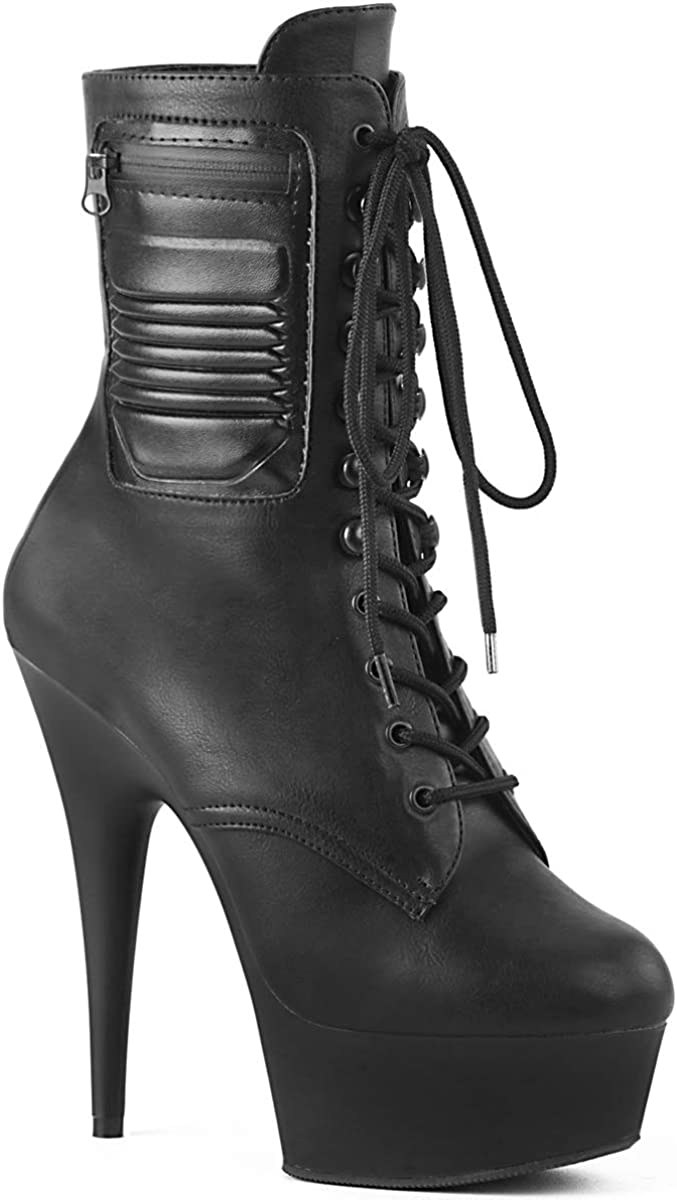 Pleaser Womens Delight-1020PK Ankle-high Boot