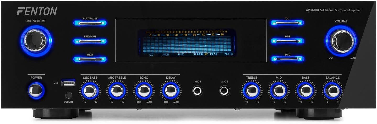 FENTON AV-340BT Amplificador de Alta fidelidad