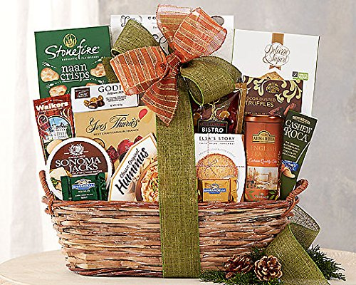 Wine Country The Connoisseur Gift Basket (Coffee And Wine Gift Baskets)