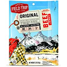 FIELD TRIP Original All Natural Gluten Free Beef Jerky, 2.2 Oz (pack of 3)