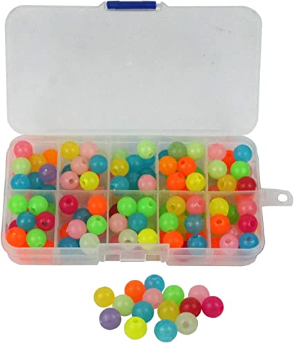 8mm Deep-Sea Fishing Rig Beads 6 Colours