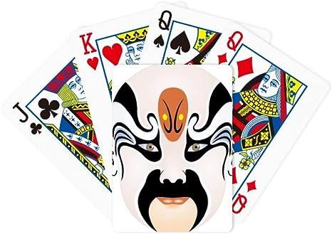 DIYthinker Peking máscara de ópera el huérfano del Chao Juego de Cartas de póquer Juego de Mesa Regalo: Amazon.es: Deportes y aire libre