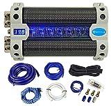Rockville RFC50F 50 Farad Capacitor Voltage Display+Amp Kit