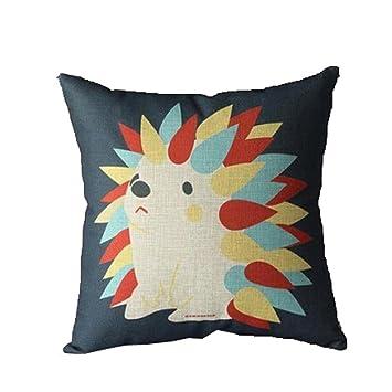 Compia Square Comfortable Pillow Case Cushion Cover Home Decor With Hidden  Zipper Design Super Soft Fabrics