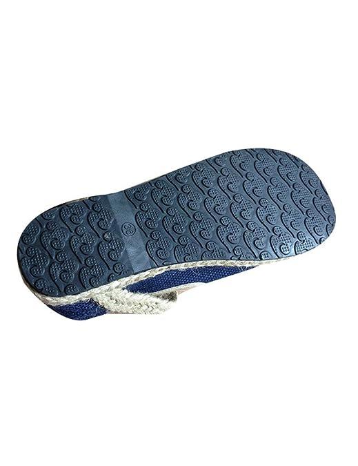 afefc011 Youlee Mujeres Tejido Paja Zapatos Pareja Zapatos Bajos: Amazon.es: Zapatos  y complementos